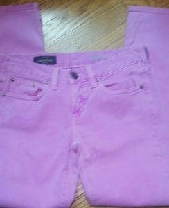 J.crew purple toothpick jeans sz.26